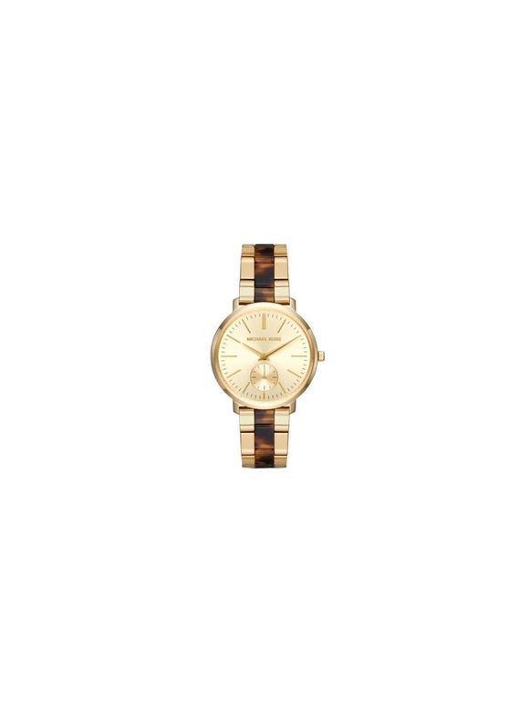 Michael Kors Jaryn Gold Dial Ladies Watch Mk3511 Womens Watches Michael Kors