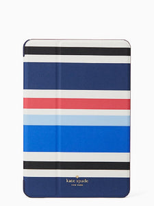 Kate Spade WIRU0596 New York New Waltz Stripe Ipad Mini 4 Case Electronics Kate Spade