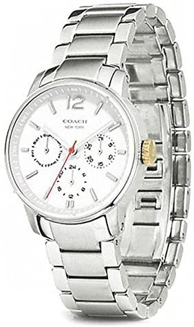 Coach Watch 14501959 Silver Ladies