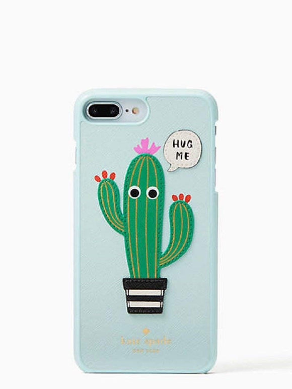 Kate Spade WIRU0883 New York Hug Me Applique Leather Snap Case For Iphone 8 Plus & Iphone 7 Plus Electronics Kate Spade