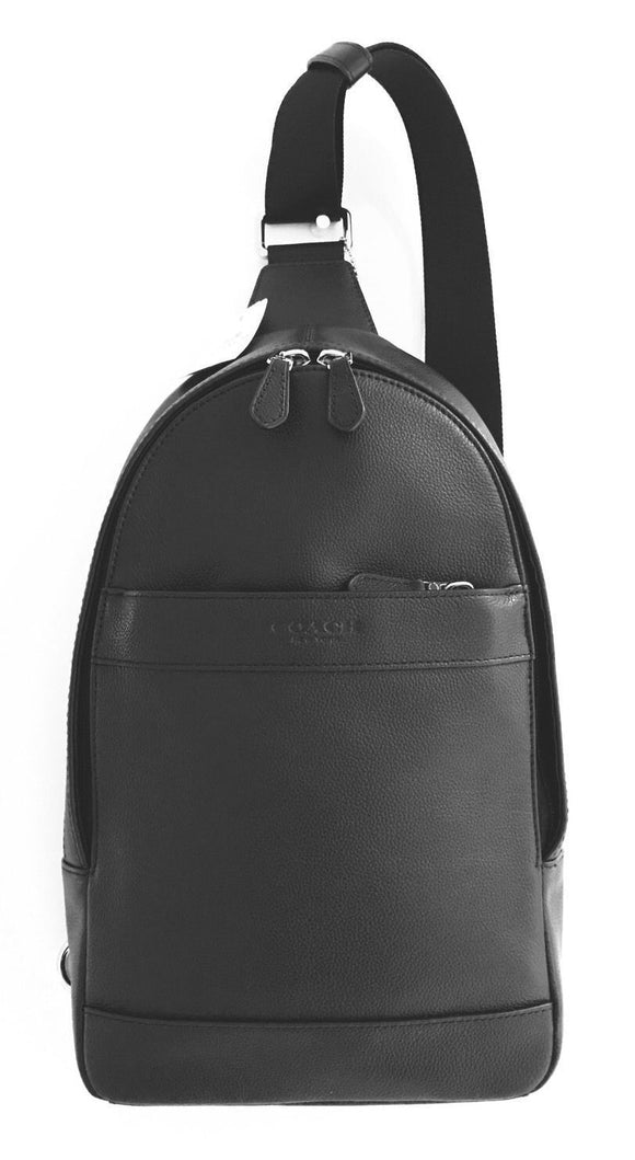 Charles Pack In Smooth Leather (Coach F54770) Mens Backpacks Coach