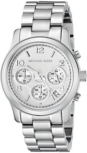 Michael Women's Runway Silver-Tone Watch MK5076 Womens Watches Michael Kors