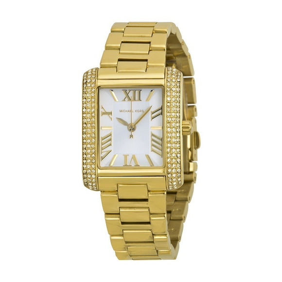 Michael Kors Women'S Mini Emery Watch, Gold, One Size Womens Watches Michael Kors