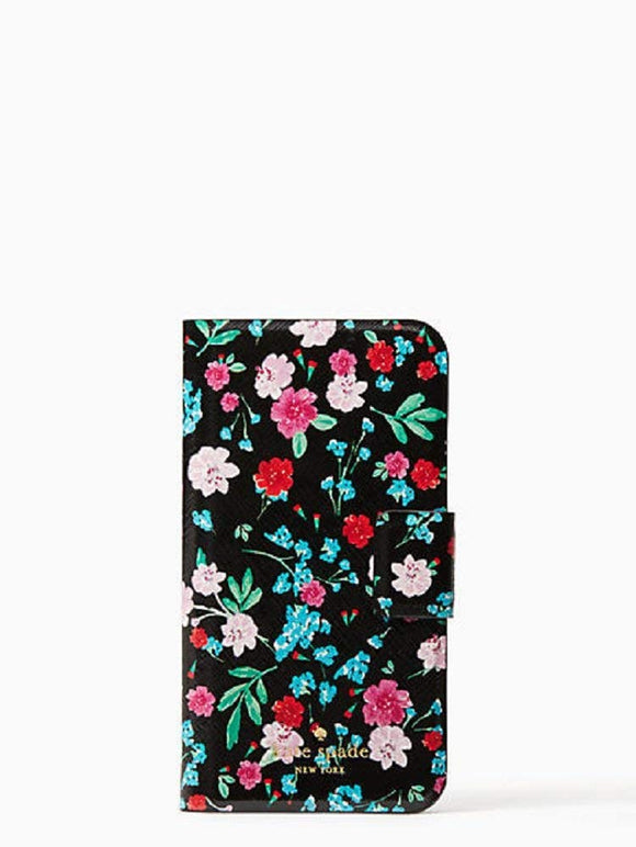 Kate Spade WIRU0908 New York Greenhouse Folio Case For Iphone X Electronics Kate Spade