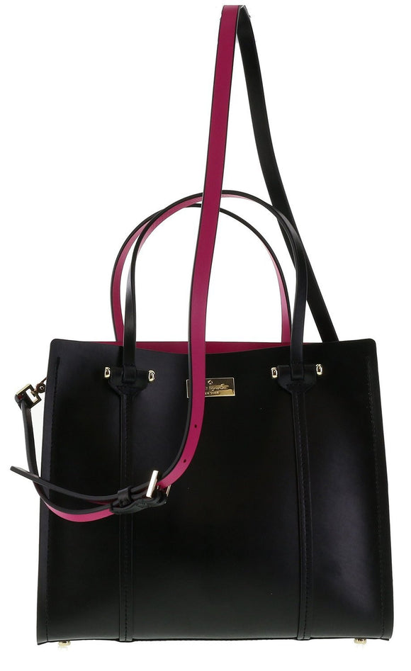 Kate Spade WKRU3036 New York Arbour Hill Small Elodie Leather Tote Womens Handbags Kate Spade