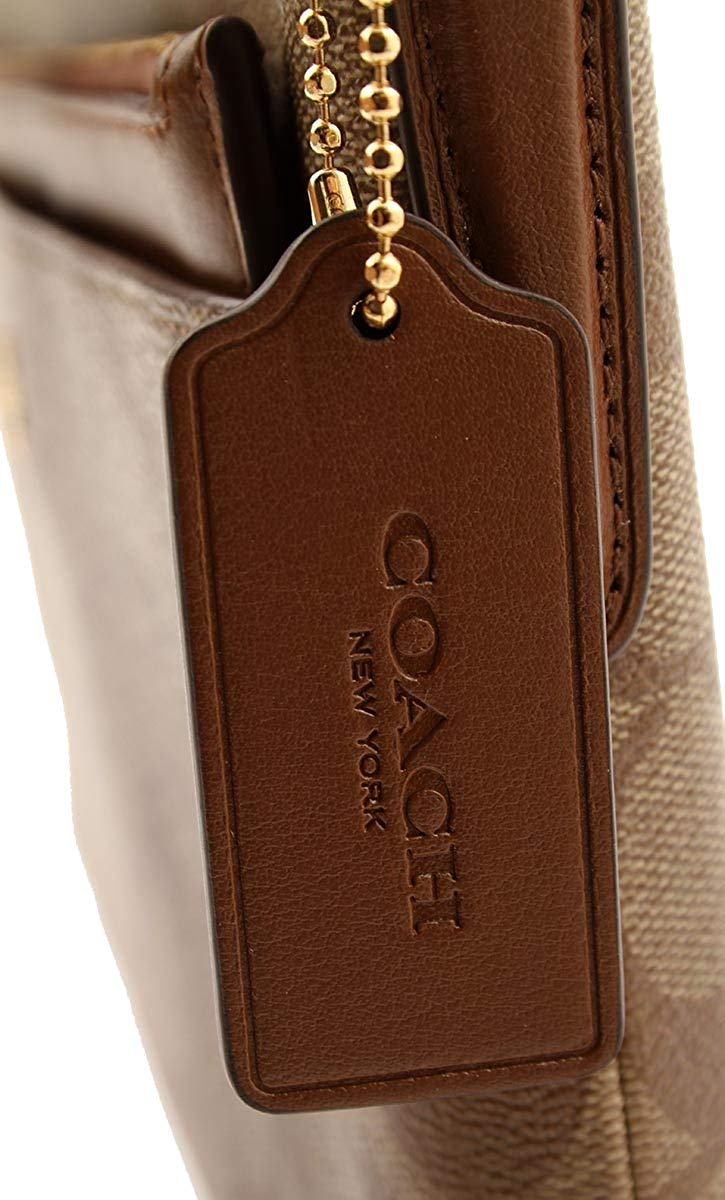 118a477c246d East West Crossbody With Pop-Up Pouch In Signature Coated Canvas (Coach  F58316)