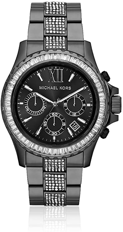 Michael Kors MK5829 Black Everest Stone Set Ladies Watch