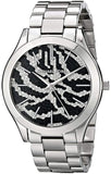Michael Kors Runway Black Dial Stainless Steel Ladies Watch MK3314