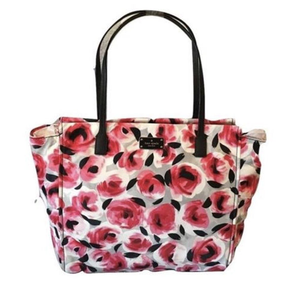 Kate Spade WKRU3526 Taden Rose Bed Blake Avenue Tote Bag Handbag Multi Womens Handbags Kate Spade