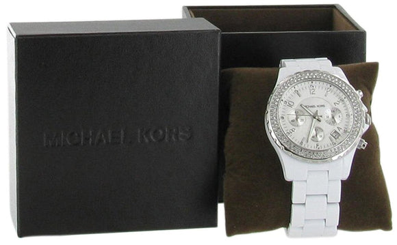 Michael Kors Glitz Acrylic Watch Mens Watches Michael Kors