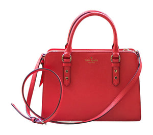 Kate Spade WKRU4002 New York Lise Mulberry Street Handbag, Cherry Liqueur Womens Handbags Kate Spade