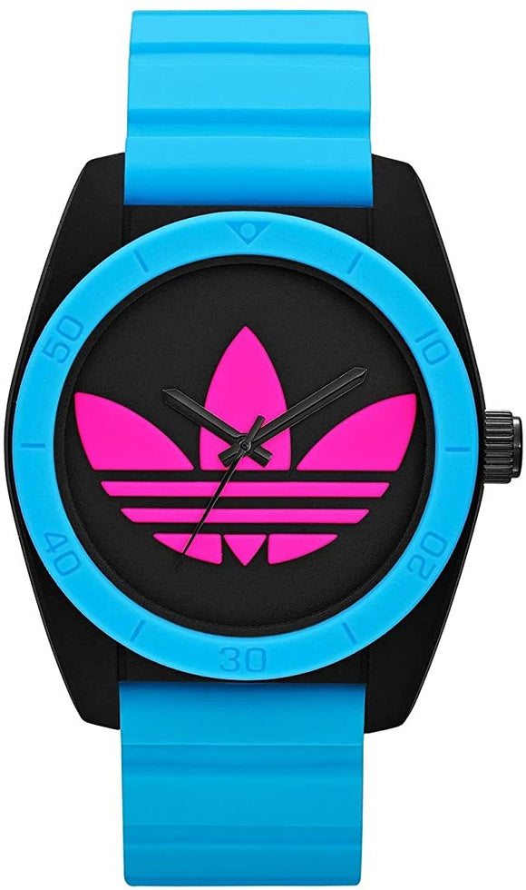 Adidas Unisex Blue Silicone Watch ADH2843