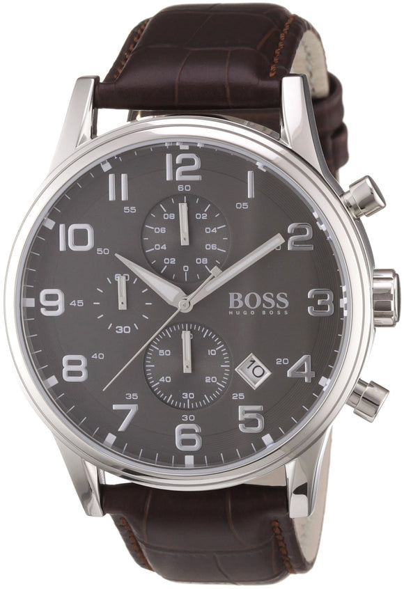 Hugo Boss 1512570 Leather Mens Watch Mens Watches Hugo Boss