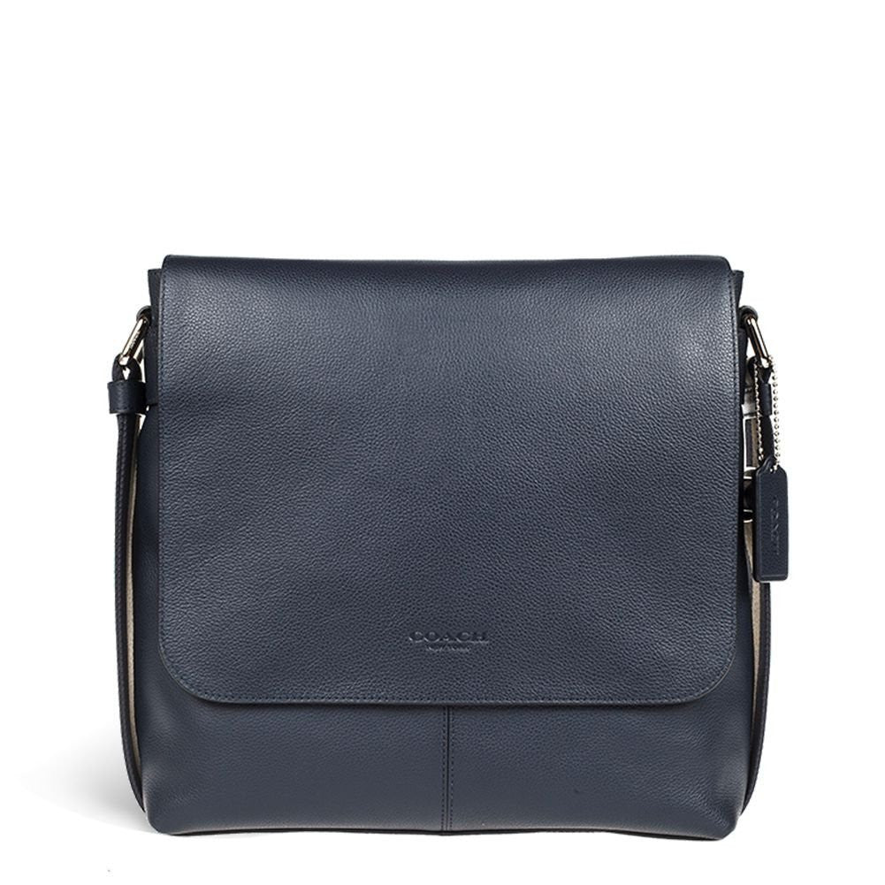 0481d3563eea Charles Small Messenger In Sport Calf Leather (Coach F72362 ...