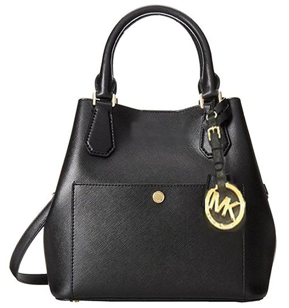 Michaell Michael Kors Greenwich Saffiano Leather Medium Grab Bag Womens Handbags Michael Kors
