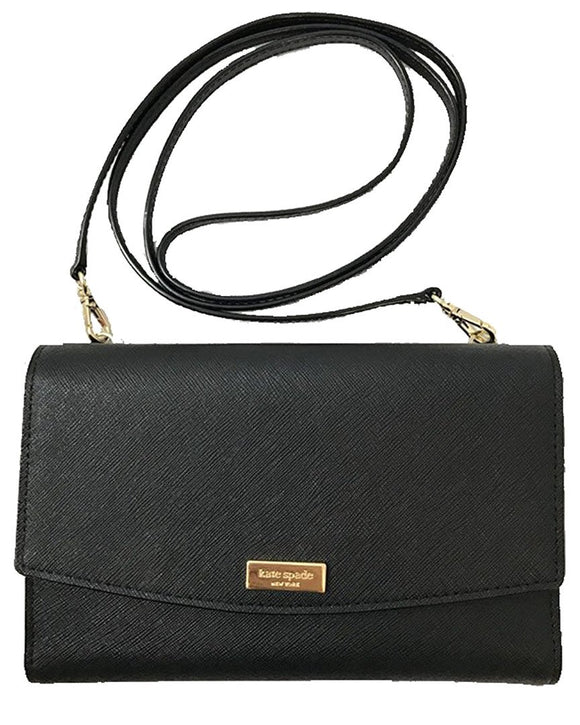 Kate Spade WLRU2667 New York Laurel Way Winni Saffiano Leather Crossbody Purse Womens Handbags Kate Spade