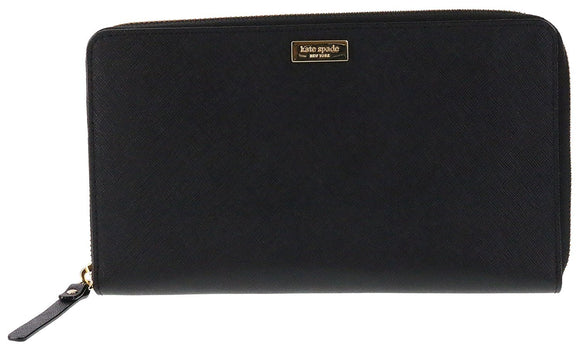 Kate Spade WLRU2676 New York Laurel Way Talla Saffiano Leather Wallet Clutch Womens Wallets Kate Spade