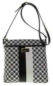 Kate Spade WKRU3631 New York Penn Place Keisha Crossbody,Black Womens Handbags Kate Spade