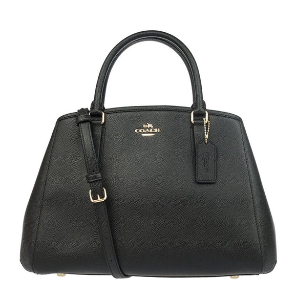 Small Margot Carryall In Crossgrain Leather (Coach F57527) Womens Handbags Coach
