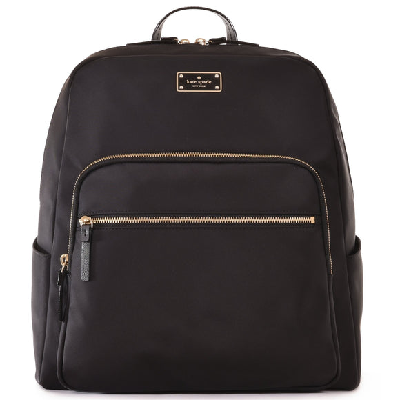 Kate Spade WKRU3919 Large Hilo Blake Avenue Backpack - Black Womens Backpacks Kate Spade