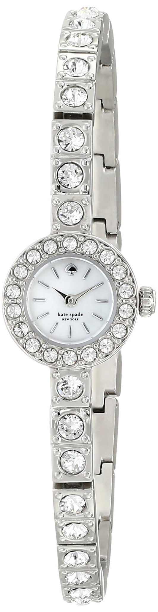 Kate Spade 1YRU0418  New York Women'S 1Yru0418 Pierre Analog Display Japanese Quartz Silver Watch Womens Watches Kate Spade