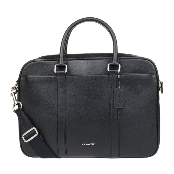 Perry Slim Briefcase In Crossgrain Leather (Coach F59057) Mens Bags Coach