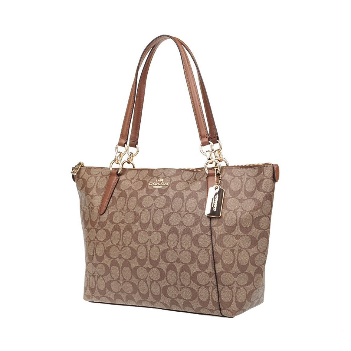 Ava Tote In Signature (Coach F58318) Womens Handbags Coach