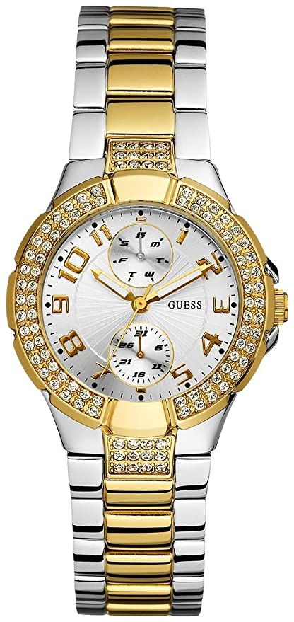 GUESS U13586L1 Status In-the-Round Watch - Two Tone