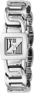 DKNY Women's NY4436 Stainless-Steel Analog Quartz Watch with Silver Dial Womens Watches DKNY