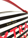 Kate Spade WKRU5324 New York Grove Street Millie Leather Shoulder Handbag Purse Womens Handbags Kate Spade