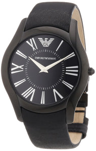 Emporio Armani Men'S Ar2059 Sportivo Black Dial And Strap Watch Mens Watches Emporio Armani