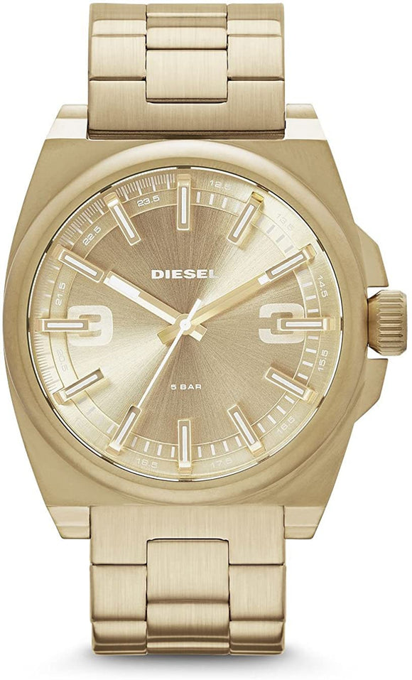 Diesel Men's Gold Stainless Steel Quartz Watch DZ1623