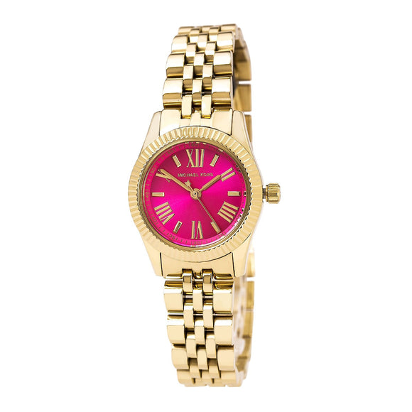 Michael Kors Petite Lexington Gold-Tone Stainless Steel Women'S Watch #Mk3270 Womens Watches Michael Kors