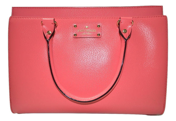 Kate Spade WKRU2486 Durham Wellesley Handbag In Flamingo Womens Handbags Kate Spade
