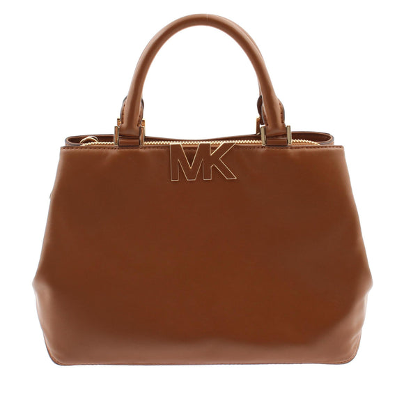 Michael Kors Florence Medium Satchel (Luggage) - 35F5Gres3L Luggage Womens Handbags Michael Kors