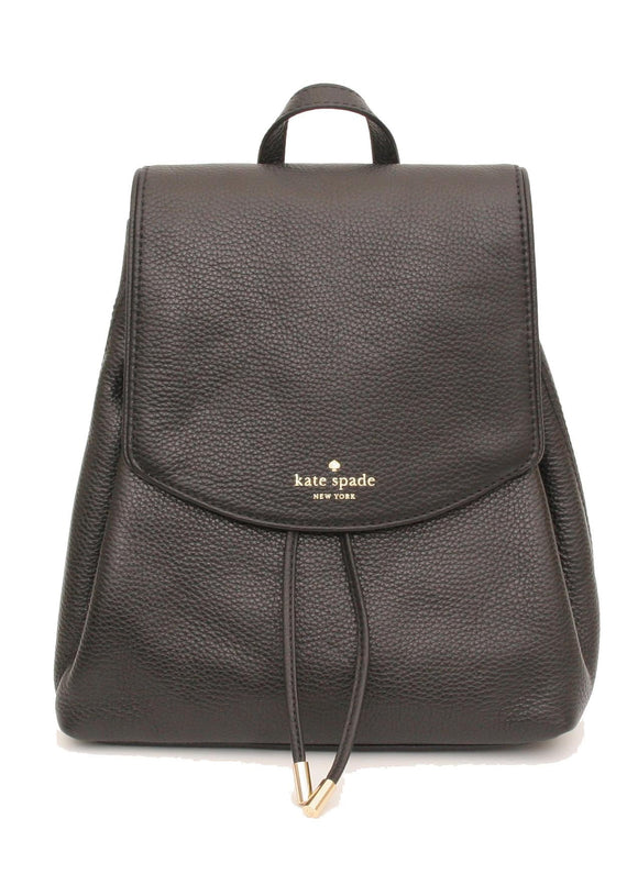 Kate Spade WKRU3939 New York Mulberry Street Small Breezy Leather Backpack Purse Womens Backpacks Kate Spade