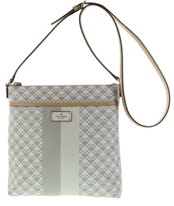 Kate Spade WKRU3631 New York Penn Place Keisha Crossbody,Grey Womens Handbags Kate Spade