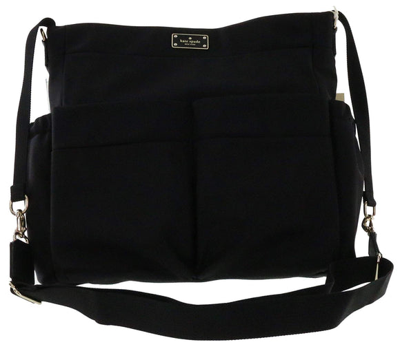 Kate Spade WKRU4214 New York Blake Avenue Adamson Baby Bag Diaper Bag (Black) Baby Bags Kate Spade