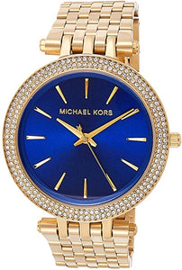 Michael Kors Women's Darci Gold-Tone Watch MK3406