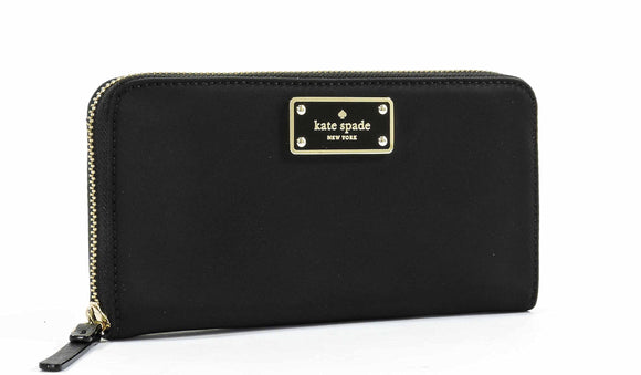 Kate Spade WLRU2356 Blake Avenue Neda Polyester Zip Around Wallet Womens Wallets Kate Spade