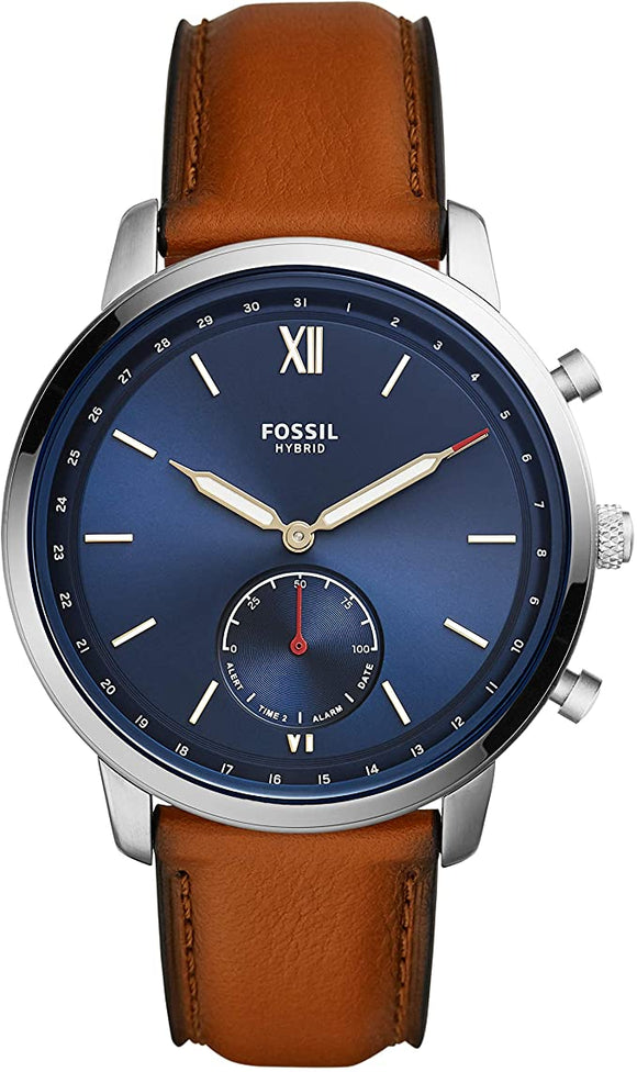 Fossil Men's Neutra Stainless Steel Hybrid Smartwatch