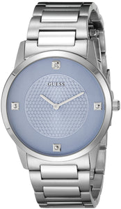 Guess Men'S U0428G2 Diamond-Accented Stainless Steel Watch Mens Watches GUESS