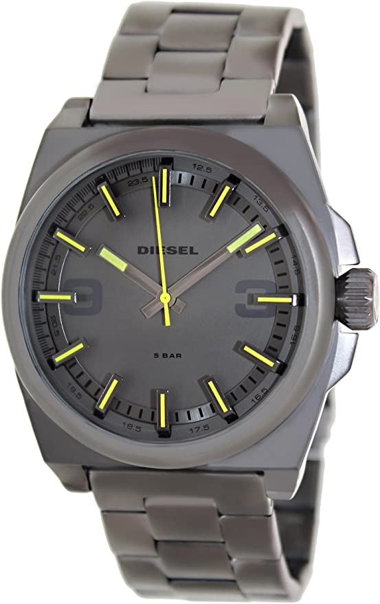 Diesel SC2 Three-Hand Stainless Steel - Gunmetal Men's watch DZ1615