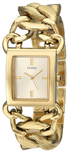 Guess Women'S U0526L1 Gold-Tone Watch With Link Bracelet Womens Watches Guess
