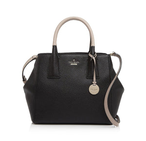 Kate Spade PXRU6271 New York Womens Lark Street Maddie Handbag Black/Almondine Womens Handbags Kate Spade