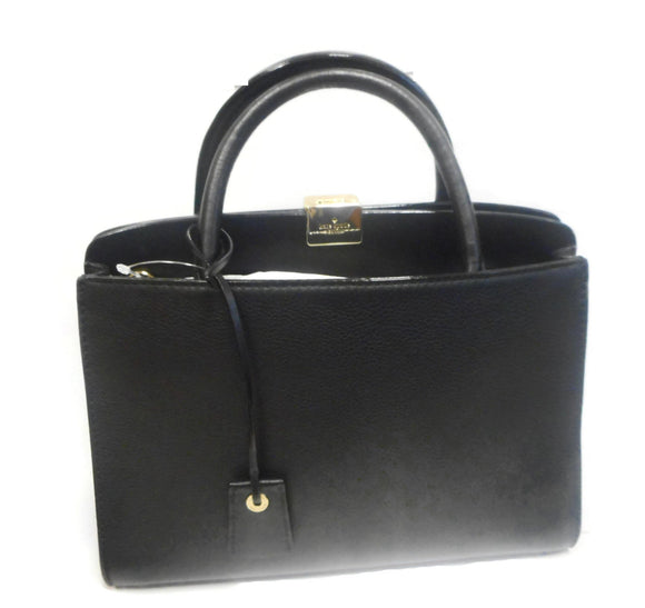Kate Spade WKRU4124 Terrace Place Small Henlie Satchel Purse Black Womens Handbags Kate Spade
