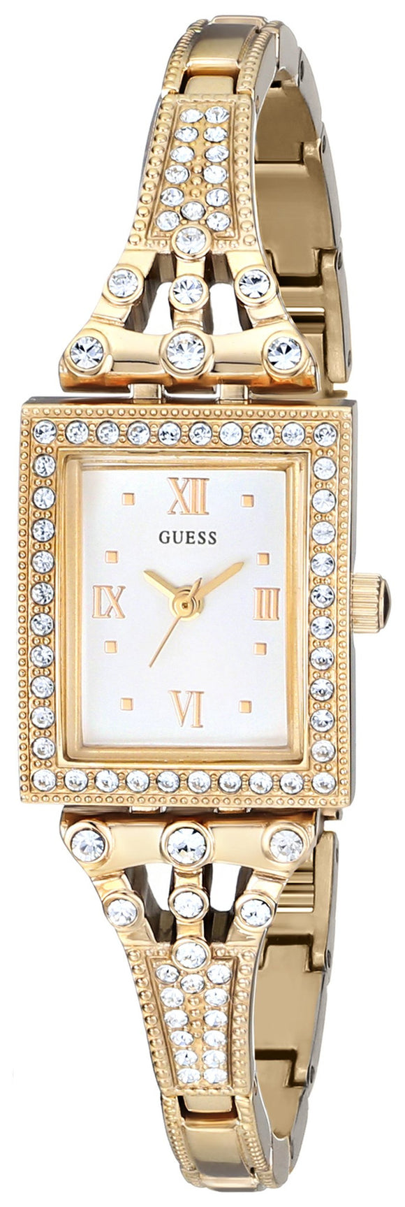 Guess Women's U0430L2 Classic Gold-Tone Jewelry Inspired Watch Womens Watches Guess