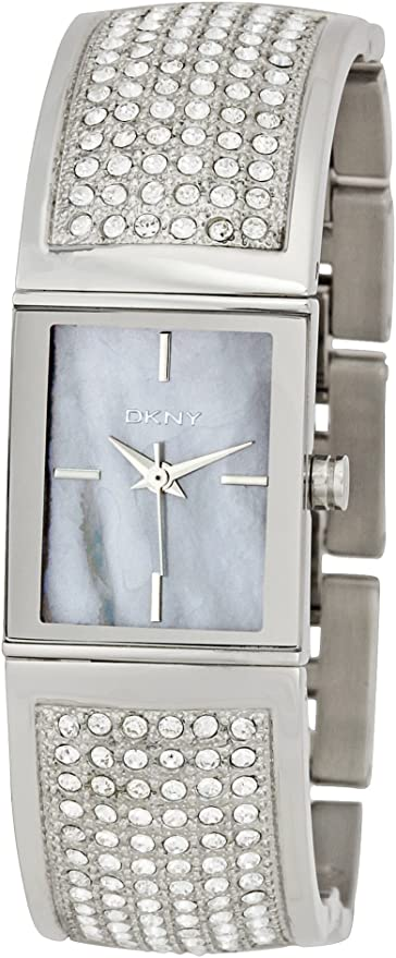 DKNY Women's NY4733 Crystal Stainless Steel Bracelet Watch