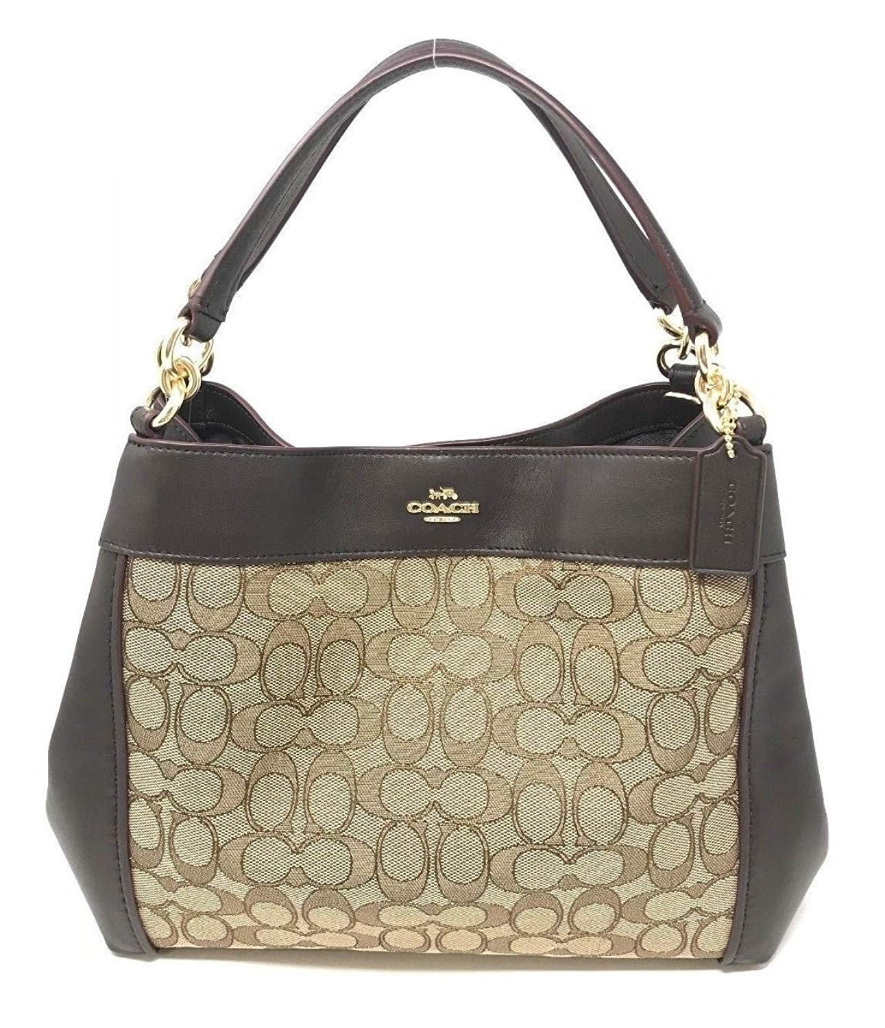 Small Lexy Shoulder Bag In Signature Jacquard (Coach F29548) - Watchcove f4026d9092ab9