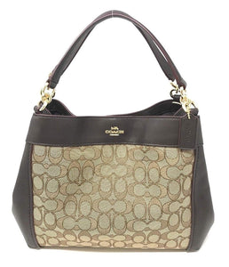 Small Lexy Shoulder Bag In Signature Jacquard (Coach F29548) Womens Handbags Coach